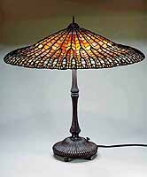 21 Inch Clematis Tiffany hanging Lamp