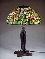 16 Inch Tulip Tiffany Lamp