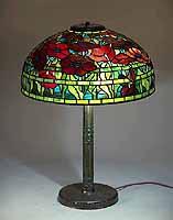 18 Inch Oriantal Poppy Tiffany Lamp
