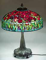 "22"" Large Tulip Tiffany Lamp"