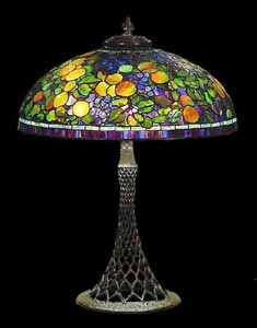 Tiffany table lamps: Domes