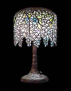 Wisteria Tiffany lamps