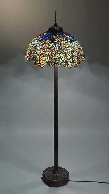 22 Quot Laburnum Tiffany Floor Lamp 1539 On Junior Floor