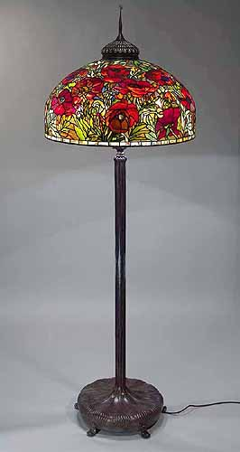Floor Lamp Tiffany: Click here for OVERSIZED picture,Lighting