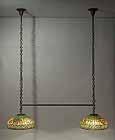 Greek key tiffany Billiard table lamp