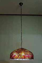 Tiffany geometric lamp
