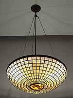 Parasol chandelier Design of Tiffany Studios NY