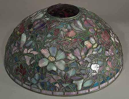 Magnolia Tiffany Hanging Lamp