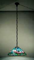 Waterlily tiffany lamp hanger