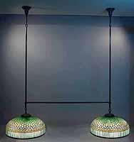 Tiffany double lamp