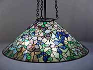 "28"" Clematis Tiffany Lamp"