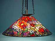 Peony Tiffany hanging lamp (cone)