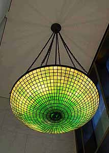 "36"" Tiffany Lamp Chandelier"