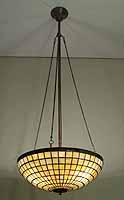 PARASOL CHANDELIER TIFFANY HANGING LAMP