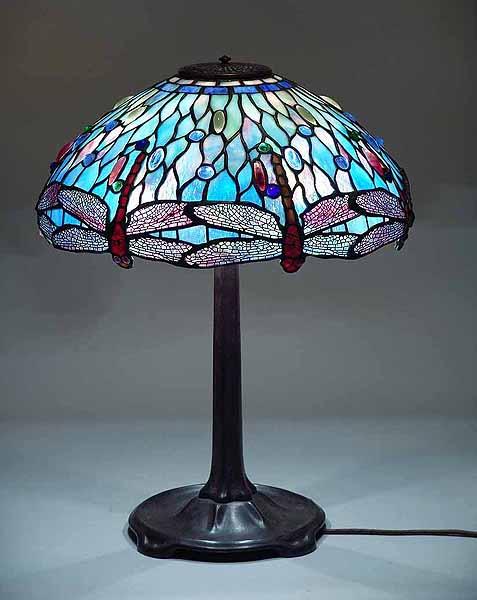 Tiffany Lamp shades with Irregular Lower Borders