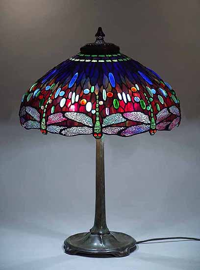 22 Quot Scarab Blue Dragonfly Tiffany Lamp 1507
