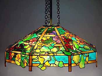 25 Quot Nasturtium Trellis 607 Tiffany Octagonal Lamp Shade