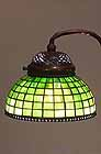 Plain Squares Tiffany lamp 8 1/2""