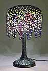 Wisteria Tiffany-lamp
