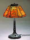 "11"" Zodiac Tiffany Lamp"