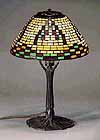 American indian Tiffany Desk lamp