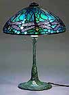 "14"" Dragonfly Tiffany Lamp"