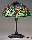 Tiffany desk lamp Tulip 14""