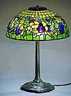 PANSY GOLD TIFFANY-LAMP 16""