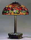 POINSETTIA TIFFANY LAMP
