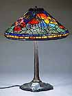 BLUE POPPY TIFFANY LAMP