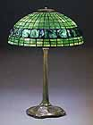Geometric Tiffany Lamp Turtleback 16""
