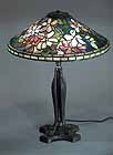 Clematis Tiffany lamp