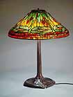 Tiffany desk lamp Dragonfly cone 20""