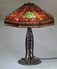 Tiffany Table lamp Libary 20""