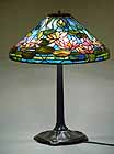 "Tiffany Table lamp 20"" Waterlily"