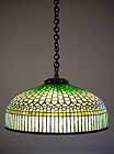 Tiffany hanging lamp Curtainborder