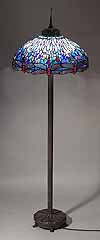 Tiffany DRAGONFLY FLOOR lamp