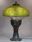 Tiffany Table Lamp GEOMETRIC DOME # 1501