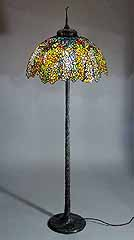 Tiffany floor lamp Laburnum