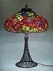 TRUMPET VINE TIFFANY LAMP