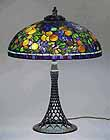 Fruit Tiffany table lamp