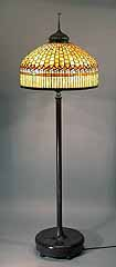 Tiffany floor Lamp Curtainborder 24""