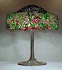 Tiffany Lamp Cherry Tree 25""