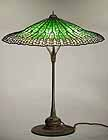 LOTUS LEAF TIFFANY LAMP
