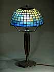 "10"" Geometric Tiffany Lamp shade"