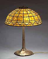 16 Inch geometric Tiffany Lamp Gold dore'