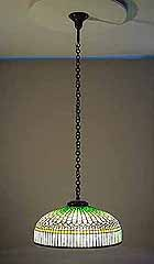 Curtain Border Tiffany Lamp