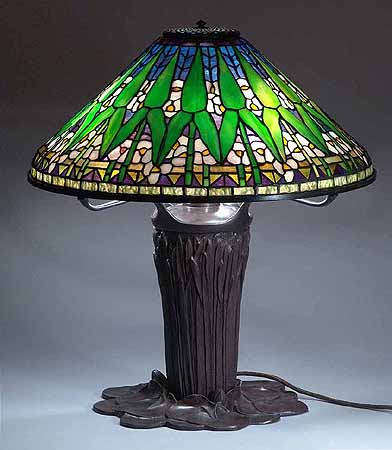The 20 Quot Arrowroot Tiffany Lamp Made By Dr Grotepass Studios