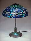 14IN Dragonfly Tiffany Lamp